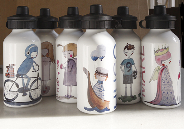 botellas aluminio trinkflaschen cantimploras