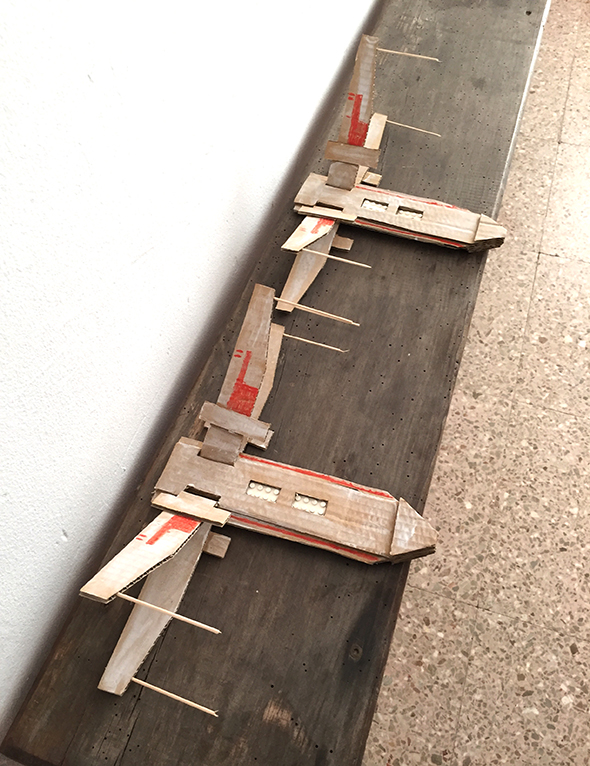 x wing starwars x ala carton karton cardboard nave lego spaceshuttle raumschiff basteln manualidad craft kid kinder niños kid
