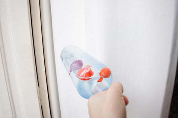 botella agua pez fish toy diy easy toodler kleinkind einfach spielzeug juguete fisch