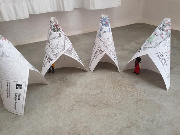 tipi paper tent papel tienda papier zelt miniatur playmobil easiest craft facil einfach altpapier