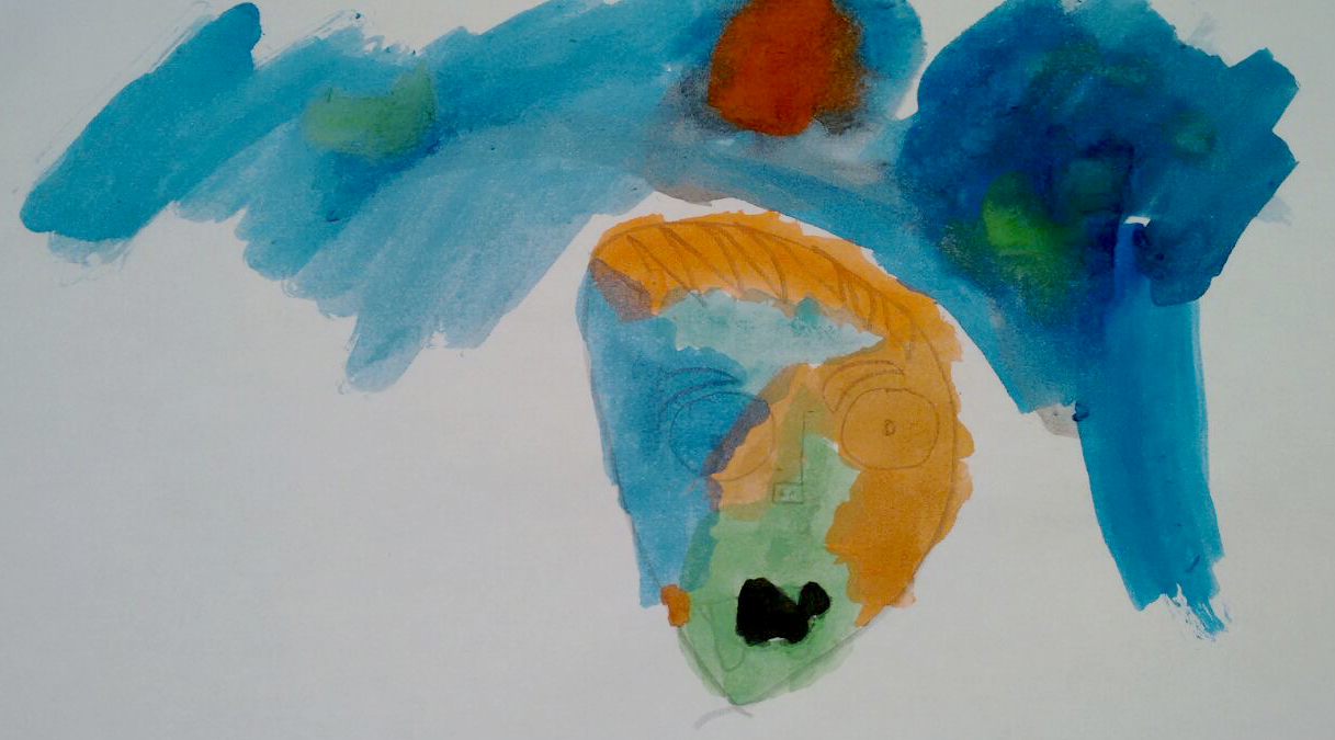ferran-drawing-halloween-5-years-painting