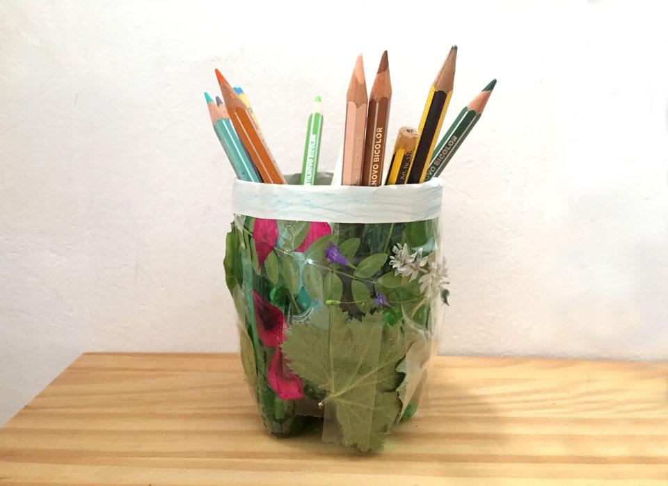 Portalápiz / Pencilholder / Stiftehalter