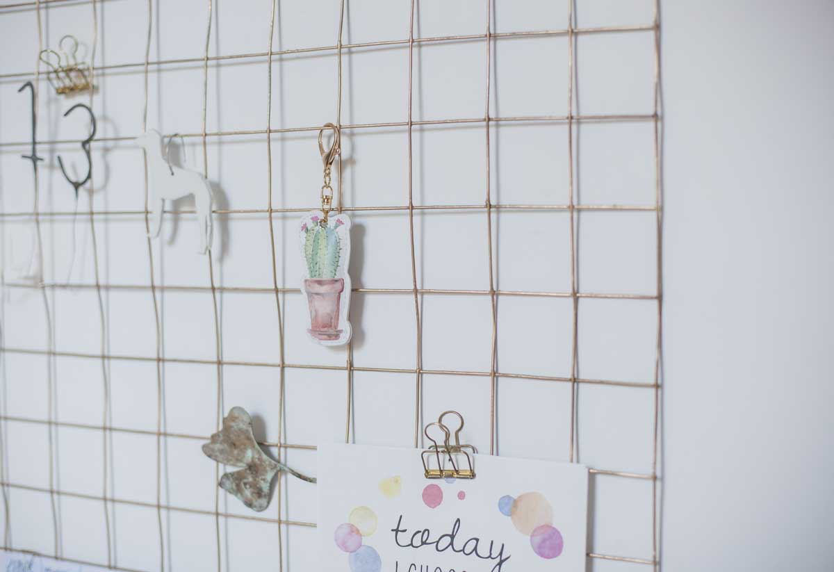 Wand organisator / Organizador de pared / Wall organizer